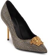 Versace Leather Studded Stiletto Heel
