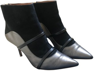 Malone Souliers Maureen Anthracite Leather Ankle boots
