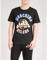 Moschino Bimbo Dog Cotton-jersey T-shirt