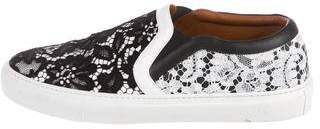 Givenchy Lace Slip-On Sneakers