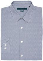 Perry Ellis Big and Tall Non-Iron Jacquard Dot Shirt