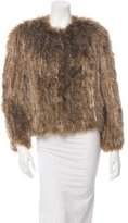 Isabel Marant Aggy Knitted Fur Jacket w/ Tags