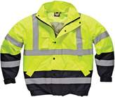 "Dickies Mens Waterproof High-Visibility Two Tone Pilot Jacket / Workwear (XL (Chest 48-50""))"