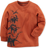 Carter's Dinosaur Graphic-Print Cotton Shirt, Toddler Boys (2T-4T)