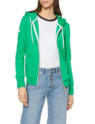 Superdry Women's La Athletic Ziphood Hoodie