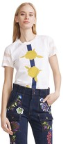 Cynthia Rowley Floral Graphic Tee