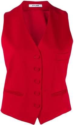 Styland buttoned waistcoat