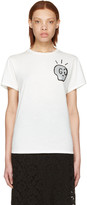 Gucci White 'Life Is Gucci' T-Shirt