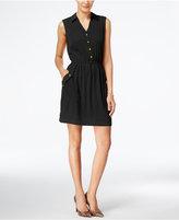 Alfani A-Line Shirtdress, Only at Macy's