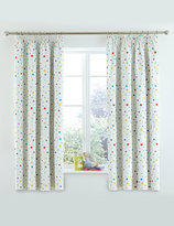 Marks and Spencer Star Print Pencil Pleat Curtains