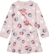 Kenzo Floral print cotton dress 6-36 months
