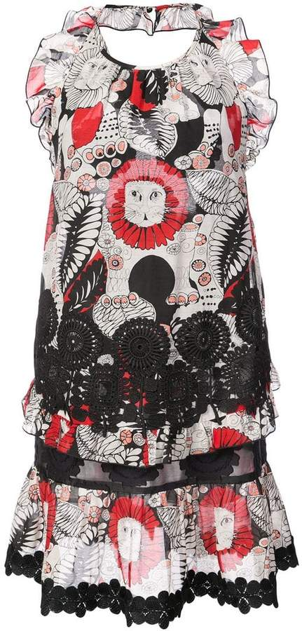 Anna Sui Love Leo halter dress