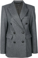 Isabel Marant double breasted coat - women - Cotton/Spandex/Elastane/Viscose/Virgin Wool - 36