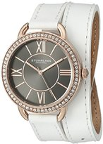 Stuhrling Original Women's 587.05 Deauville Analog Display Quartz White Watch