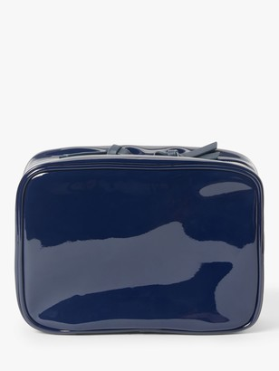 John Lewis & Partners Elodie Hanging Makeup Bag, Blue