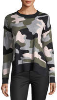 Lisa Todd Camouflage High-Low Sweater