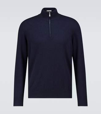 Brunello Cucinelli Cashmere half-zipped sweater