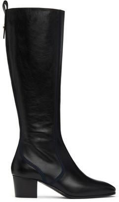 Chloé Black Goldee Tall Boots