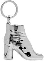 Maison Margiela SSENSE Exclusive Silver Tabi Boot Keychain