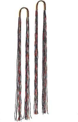 Missoni Woven Tassel Earrings