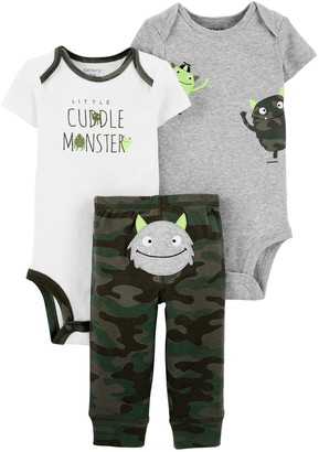 Carter's Baby 3-Piece Monster Little Character Set