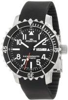 Fortis Men's 670.10.41K B-42 Marinemaster Automatic Black Dial Watch