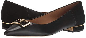 Tory Burch 20 mm Gigi Pointy Toe Flat (Perfect Black/Perfect Black) Women's Shoes
