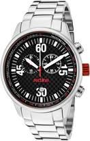 Redline Red Line Men's Compressor Black Dial Silicone Watch RL-18000-01RD2