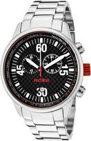 Redline Red Line Men's Compressor Dial Silicone Watch RL-18000-01RD2