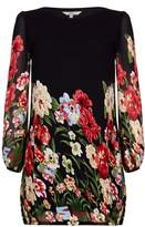 Yumi Floral Print Tunic Dress