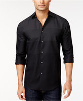 Alfani Men's Ombré Dot Long-Sleeve Shirt, Only at Macy's
