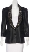 Rachel Roy Embellished Structured Blazer