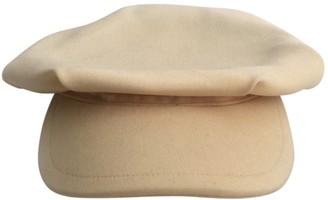 Dolce & Gabbana Beige Wool Hats