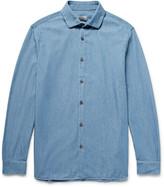Club Monaco Slim-Fit Cotton-Chambray Shirt