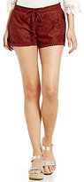 Jolt Leaf Lace Soft Shorts