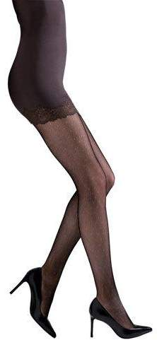 ee5c4d2bd9153 Lace Waistband Tights - ShopStyle