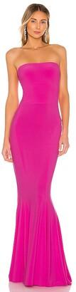 Norma Kamali X REVOLVE Strapless Fishtail Gown