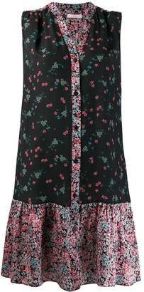 Kristina Ti floral print shirt dress