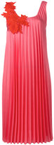 P.A.R.O.S.H. pleated dress - women - Cotton/Polyester - XS