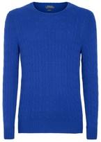 Ralph Lauren Cashmere Cable-Knit Sweater
