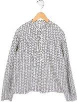 Bonpoint Girls' Long Sleeve Printed Top