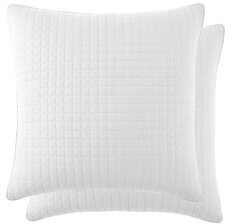 """Adair Pillow Cover The Twillery Co. Size: 26"""" H x 26"""" W, Color: Dark Blue"""