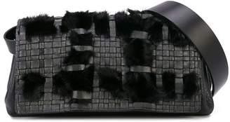 Henry Beguelin faux fur belt bag