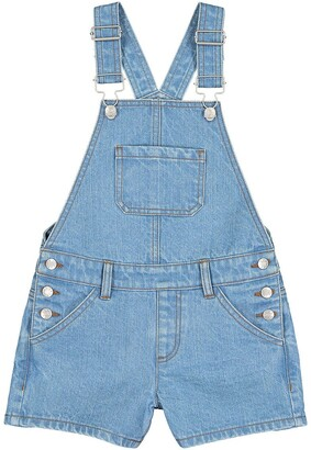 La Redoute Collections Denim Short Dungarees, 3-12 Years