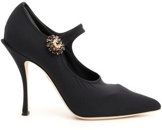 Dolce & Gabbana Embellished Strap Pumps