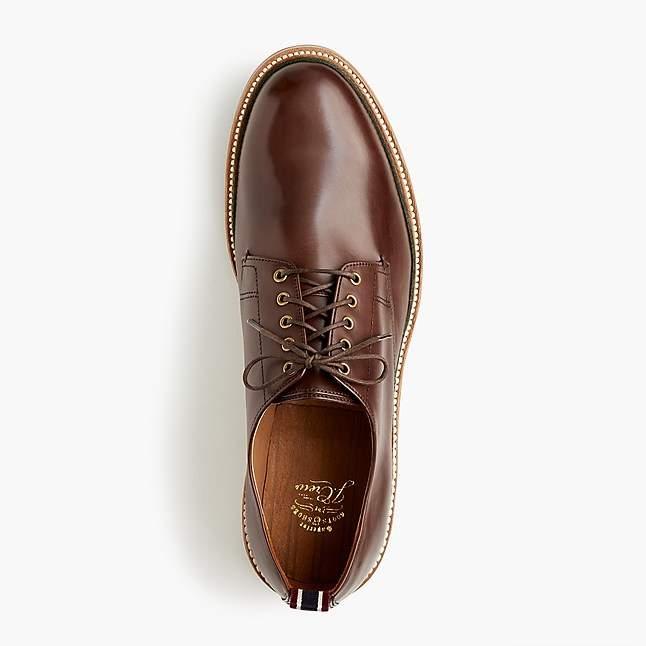 J.Crew Oar Stripe Italian leather derbys