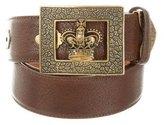 Ralph Lauren Grain Leather Belt w/ Tags