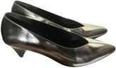 Isabel Marant Silver Leather Heels