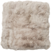 Adrienne Landau Rabbit Fur Throw