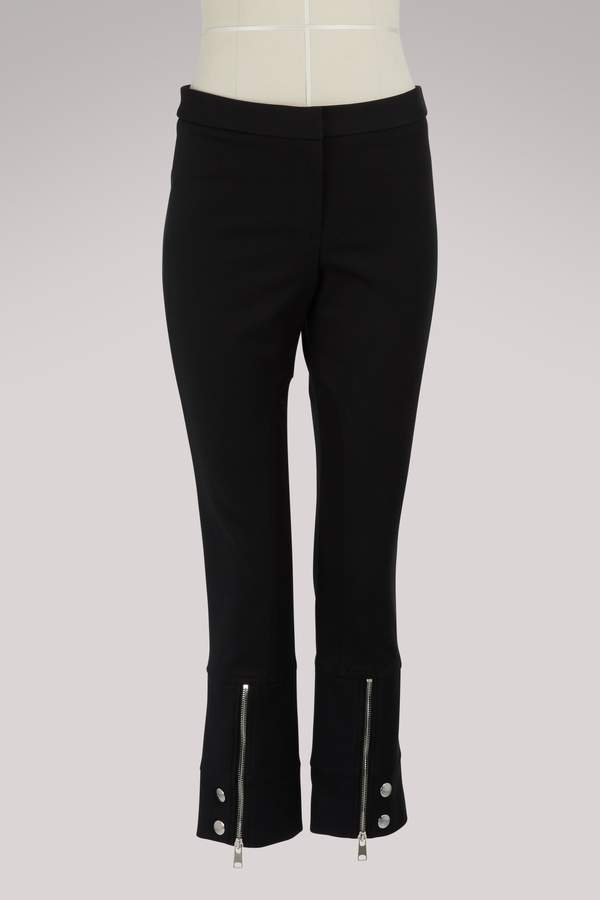 Alexander McQueen Zipper detail pants